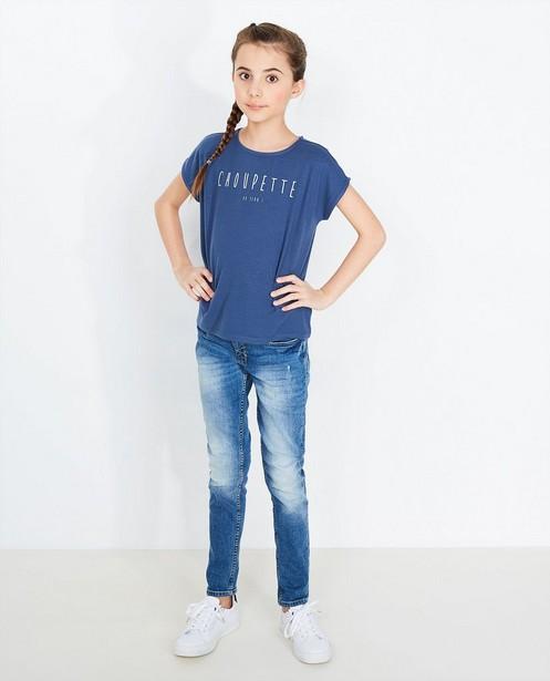 Donkerblauw T-shirt - #familystoriesjbc - JBC