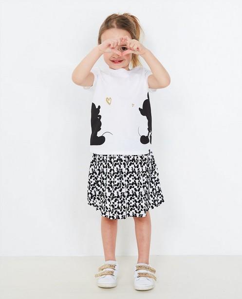 T-Shirt mit Glitzer-Print - Mickey Mouse - Mickey