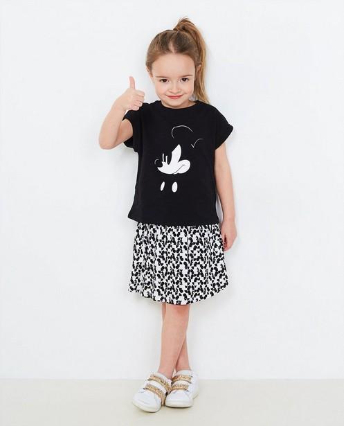 T-shirt noir avec imprimé - Mickey Mouse - Mickey
