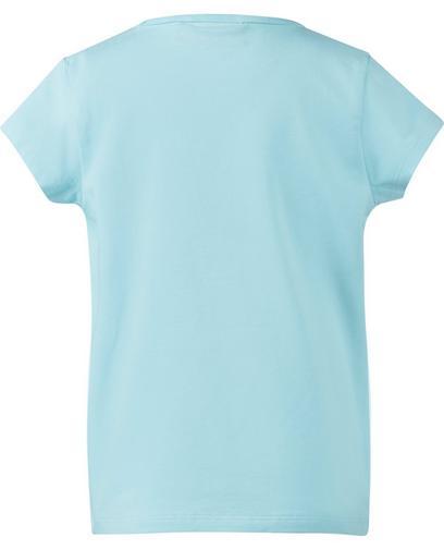 Eisblaues T-Shirt