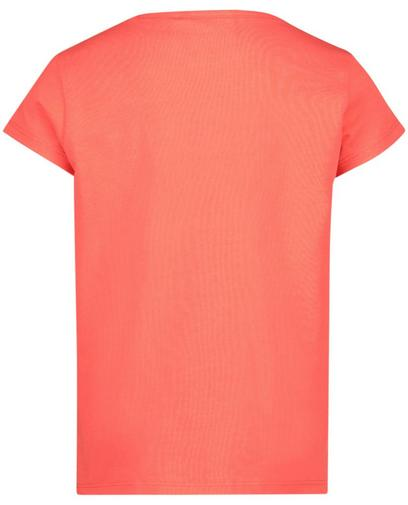 T-shirt rouge corail