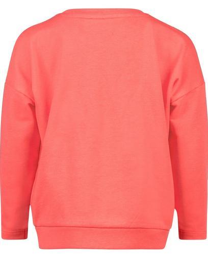Korallenrotes Sweatshirt