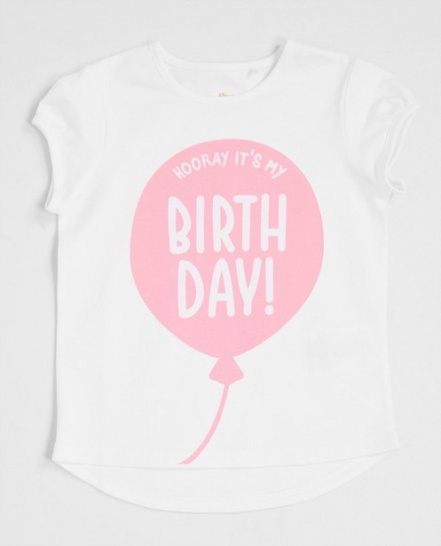 T-shirts - T-shirt verjaardag