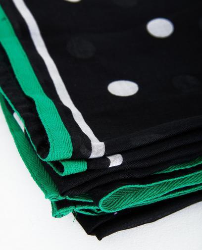 Zwart-witte sjaal