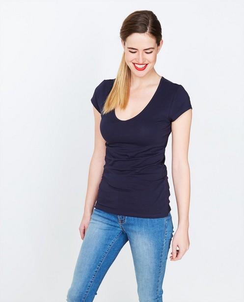 T-shirts - navy - T-shirt en coton bio