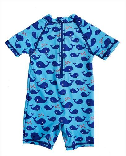 Blauw zwempakje