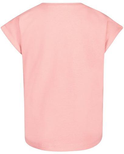 T-Shirt mit Glitzerprint