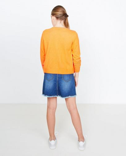 Verwassen jeansrok
