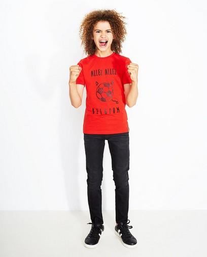 T-shirt rouge garçons 7-14
