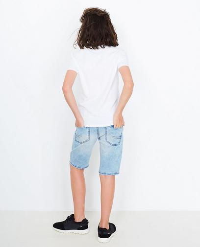 Verwaschene Jeansshorts