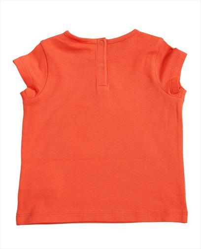 Korallenrotes T-Shirt