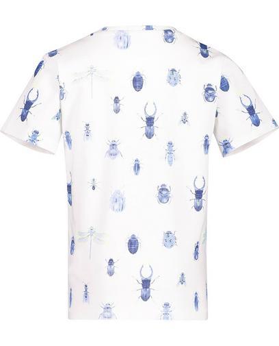 T-shirt met insectenprint