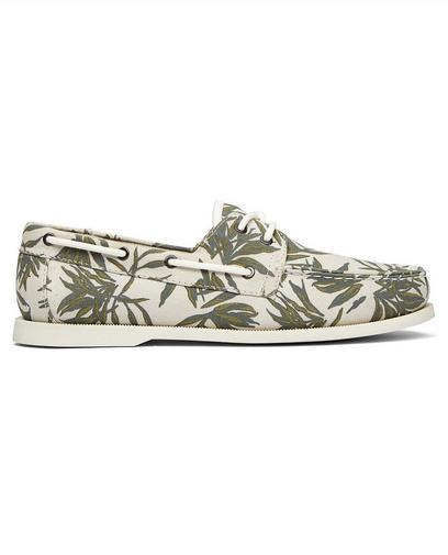 Chaussures bateau beiges