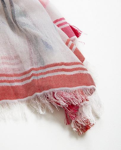 Sjaal van een zijdemix