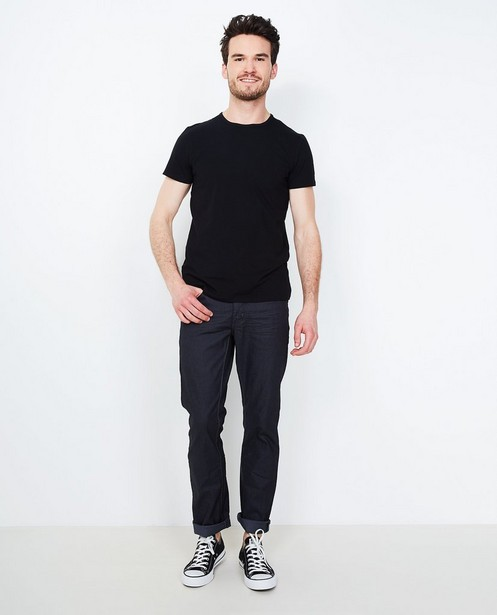 Fitted straight jeans BRANDON - met draagplooitjes - JBC