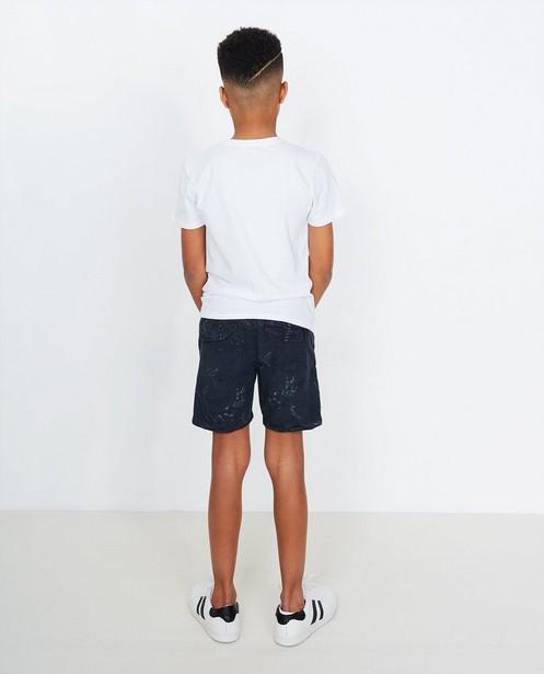 Shorts - Short imprimé de feuilles