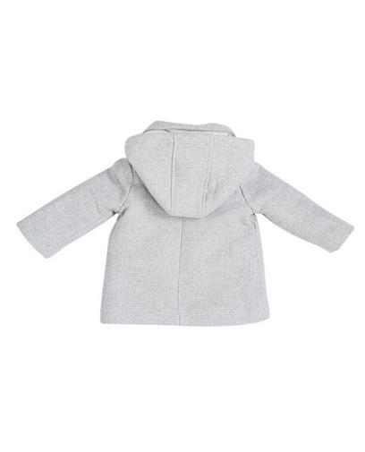 Manteau gris clair