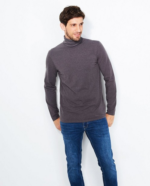 T-shirts - grey - Pull à col roulé