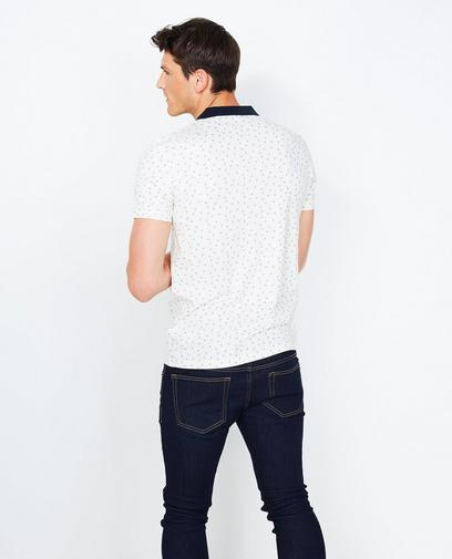 Roomwitte polo