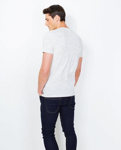 T-shirt en jersey slub