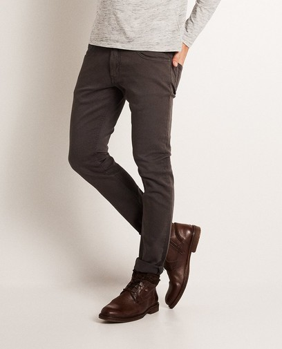 Skinny broek, sweat denim