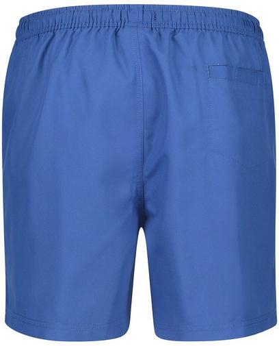 Blaue Badeshorts