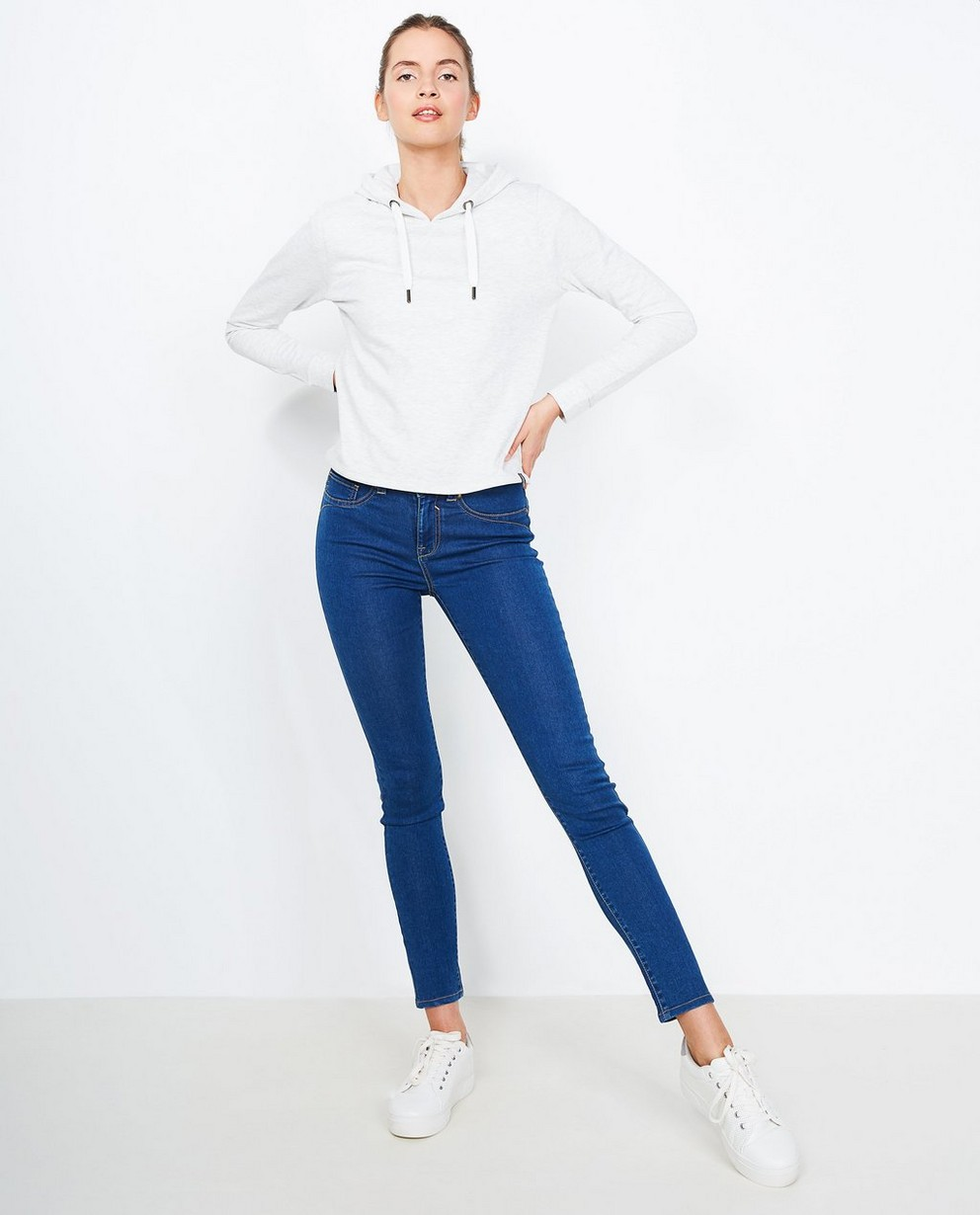 Super skinny jeans AUTUMN - in blauw - JBC