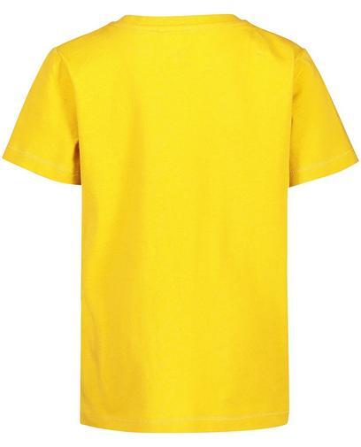 T-shirt met reliëfprint