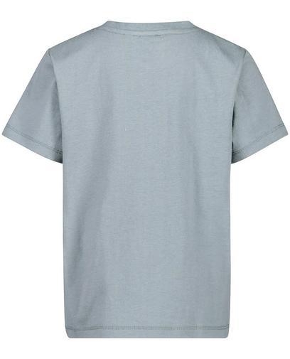 T-shirt gris-vert