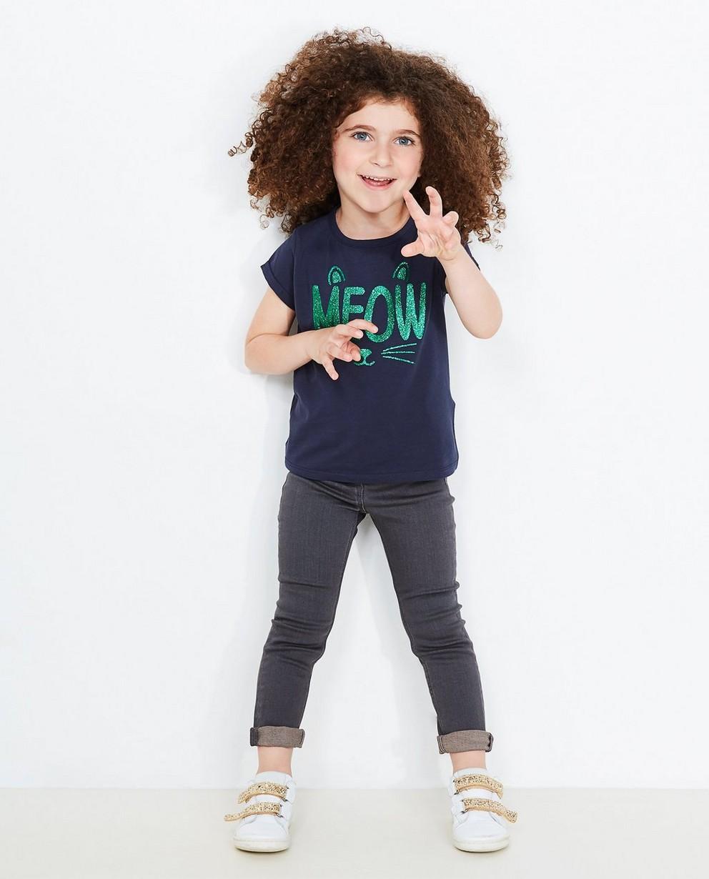 Jeans slim fit JILL, 2-7 ans - légèrement délavé - JBC