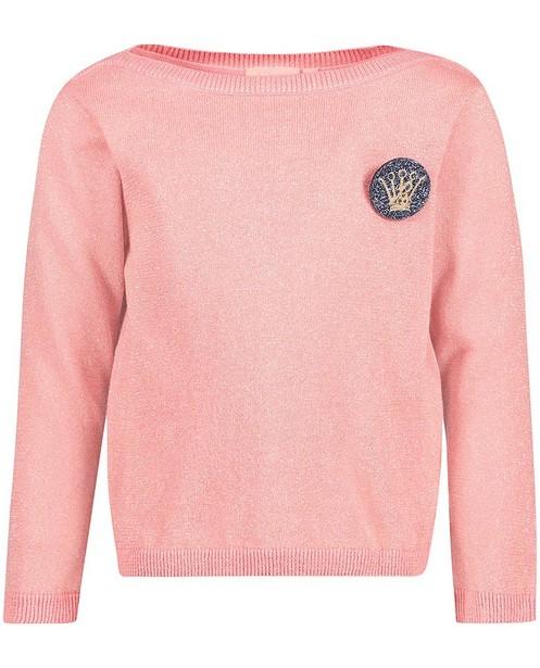 Roze Glitter Trui.Trui Met Metaaldraad In Roze Prinsessia Prinsessia Jbc Belgie