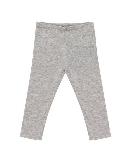 Leggings en coton bio - gris clair, BESTies - Besties
