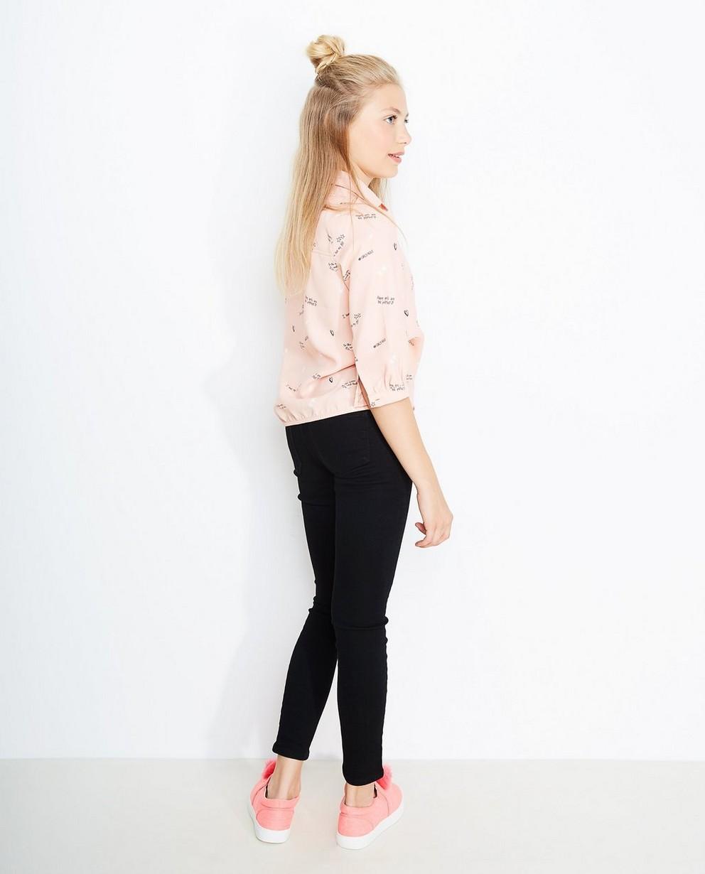 Jeans - black - Zwarte jegging