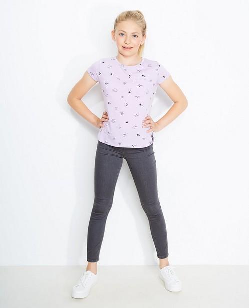 Skinny jeans MARIE - in donkergrijs - JBC