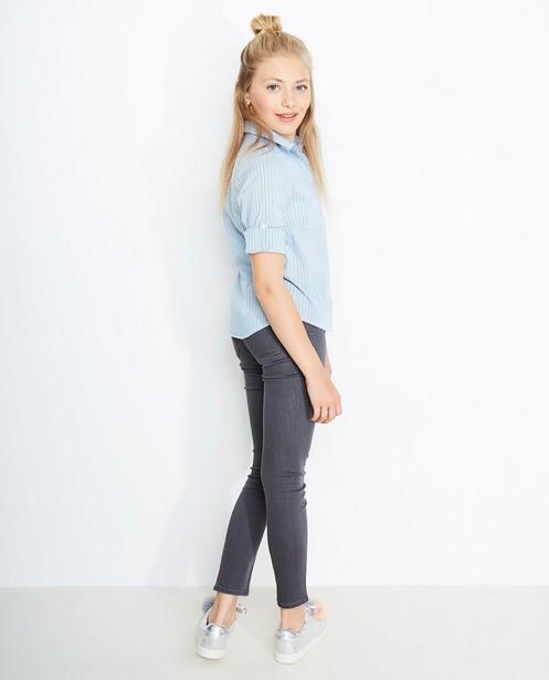 Jeans - Dunkelgrau - Slim fit jeans