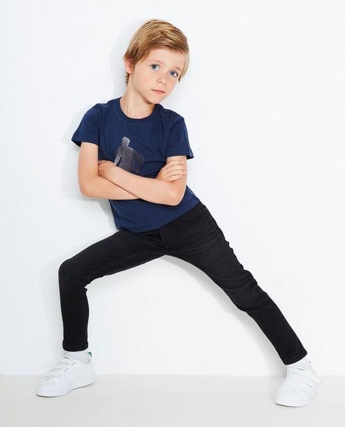 Jeans skinny noir JOEY - délavé - JBC