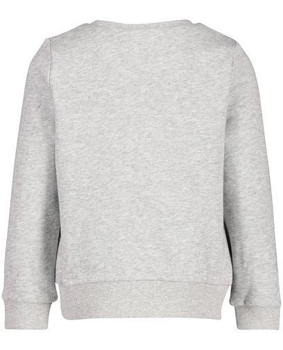 Sweater met kusjesprint