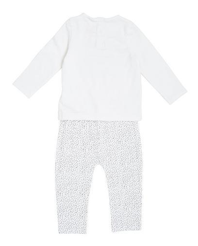 Roomwitte pyjama