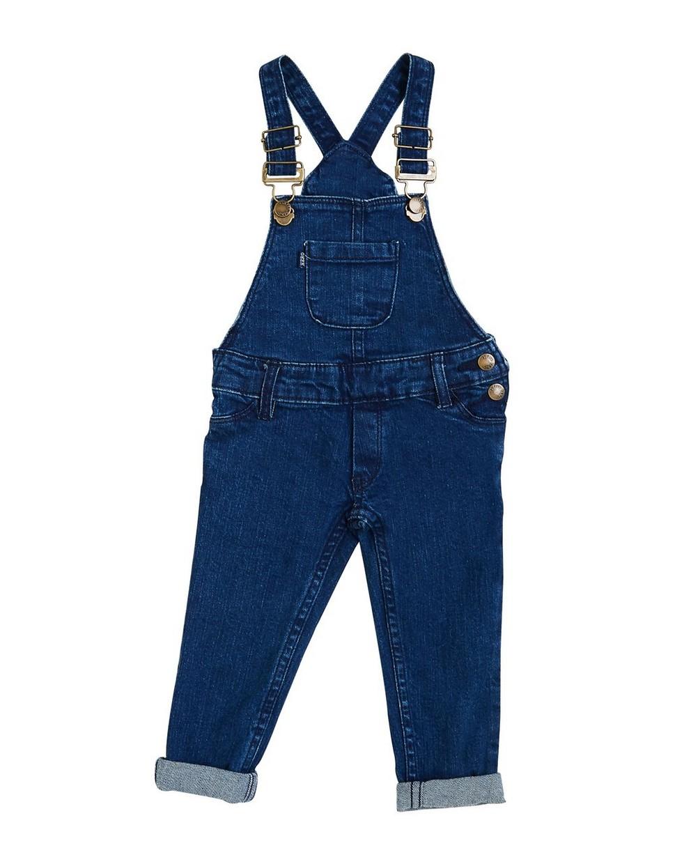 Jeanssalopette - in donkerblauw - JBC