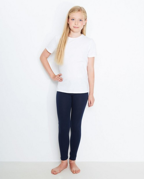 Leggings en coton bio BESTies - bleu nuit - Besties