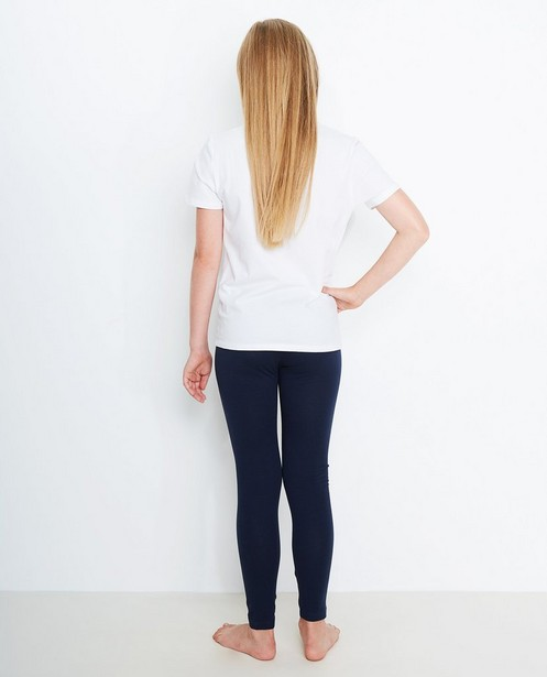 Leggings - navy - Leggings en coton bio