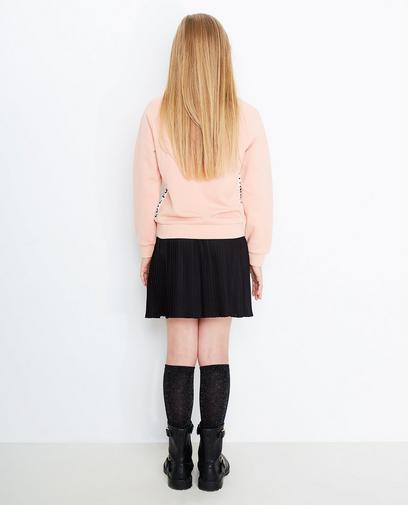 Sweater met strook