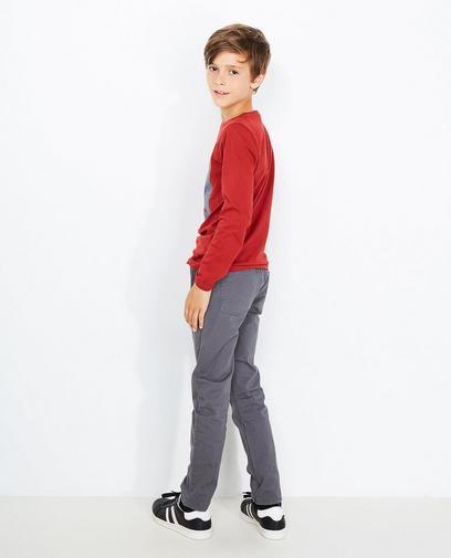 Slim fit broek
