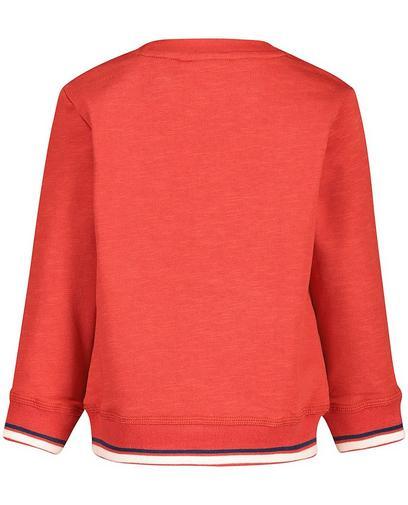 Baksteenrode sweater