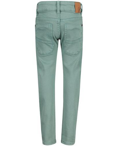 Jadegroene jeans