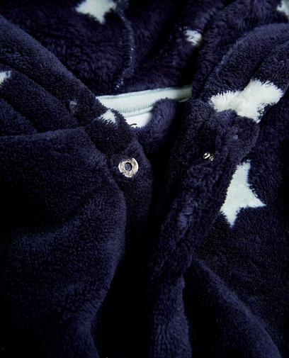 Nachtblauwe kamerjas
