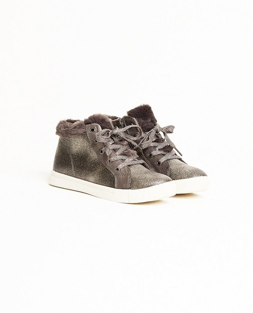 Sneakers met coating 2-7 - en faux fur - Sprox