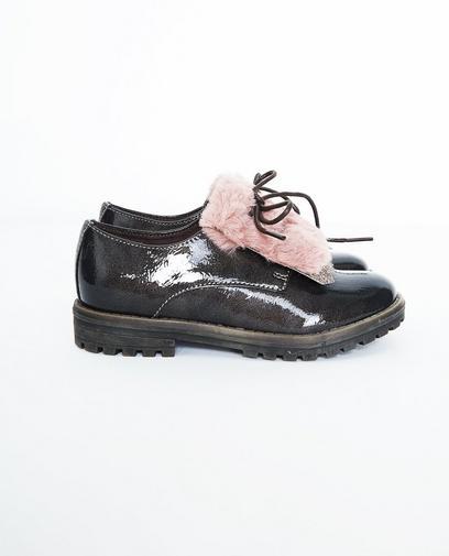 Lakleren schoenen