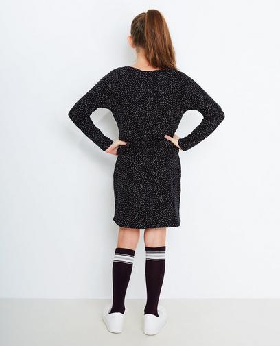 Zwarte jurk