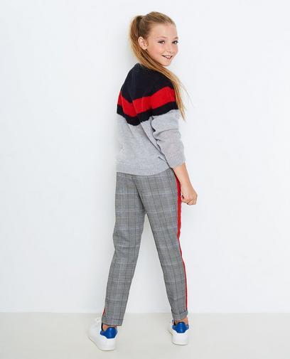 Pantalon avec une bande